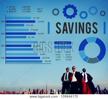 Savings Finance Budget Economy Money Save Concept