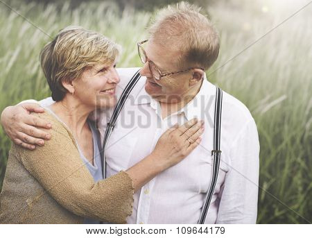 Couple Togetherness Love Passion Relationship Picnic Concept