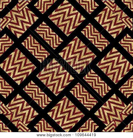 Modern Geometric Ethnic Pattern