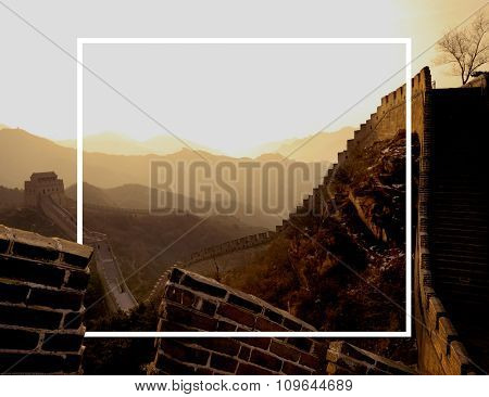 Great wall China Chinese Wall Ancient History Concept