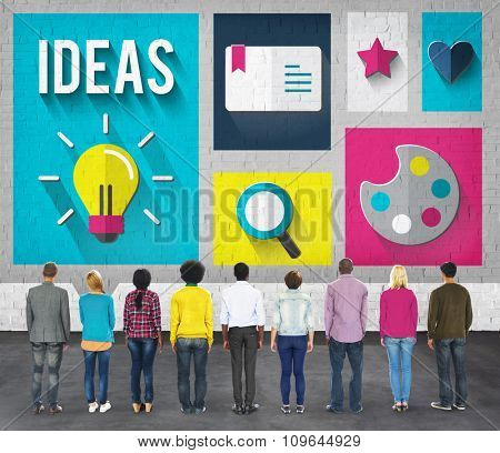 Ideas Imagination Inspiration Meeting Teamwork Concept