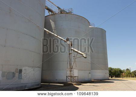 Large Grain Silos