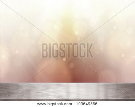 Table Top And Blur Background