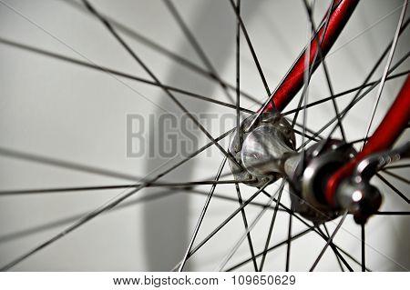 Vintage Bicycle Wheel Hub