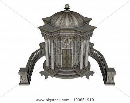Ancient house - 3D render