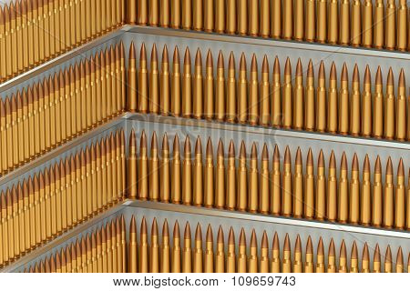 Many Bullets In Rows