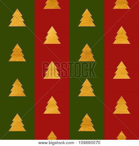 Christmas seamless geometric gold textured pattern