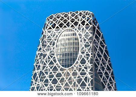 TOKYO, JAPAN - CIRCA MAY 2014: Mode Gakuen Cocoon Tower in Tokyo, Japan.