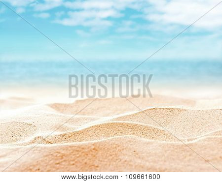 Beach background