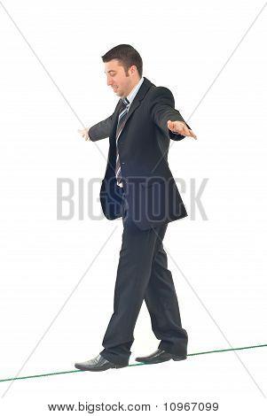 Business Man Balance