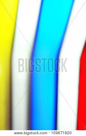 Amusement park colourful lights