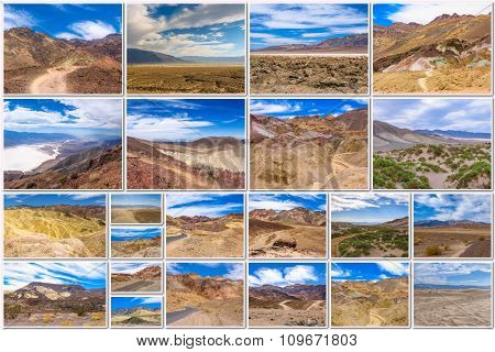 Death Valley collage
