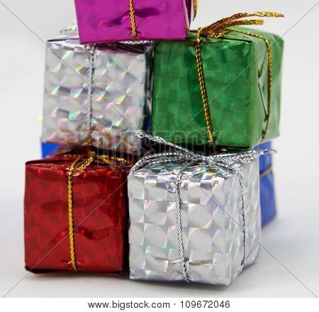 Gift Box Pile Up