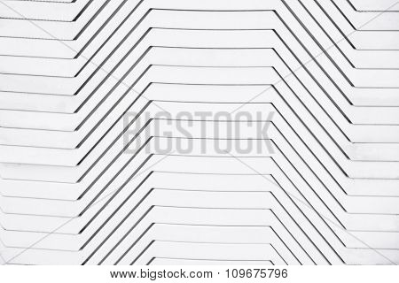 White plastic sunbed background