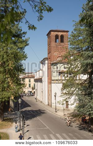 Ancient Walled City Of Lucca