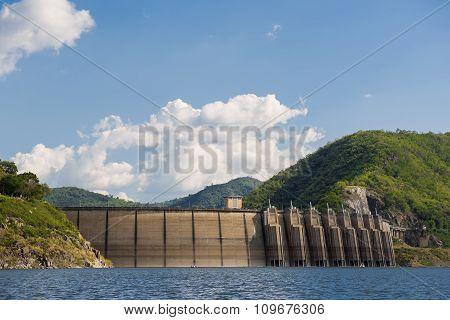 Bhumibol dam Tak Province ,Thailand.