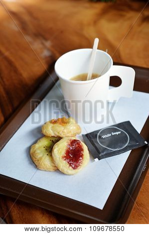 Coffee And Mini Pie