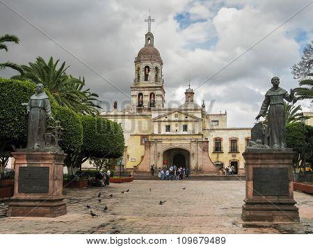 Franciscan Monastery In Queretaro