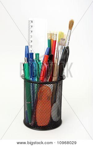Werkzeuge in Halterung