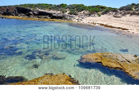 Clear Waters at Cape Peron Beach, Western Australia