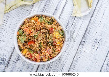 Fresh Made Bulgur Salad