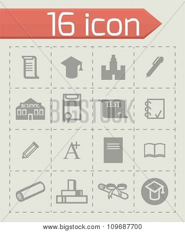 Vector Education icon set