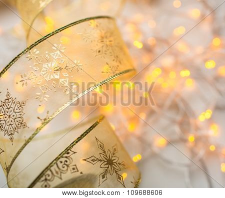 Decoration xmas ribbon