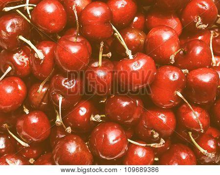 Retro Looking Cherry