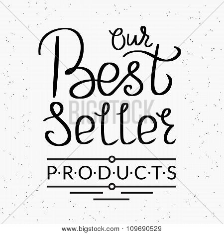 Best seller handwritten script