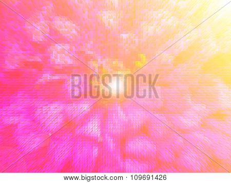 Colorful abstract background made with colorful filters.