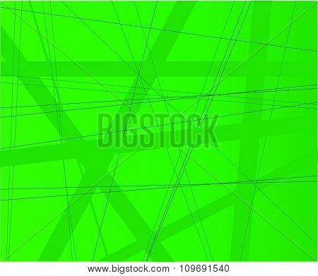 Green Modern Background