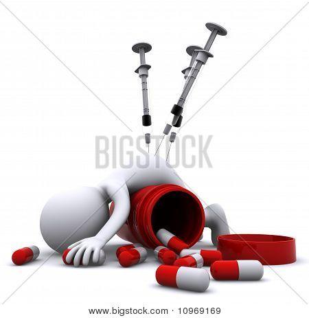 Drug Overdose Concept