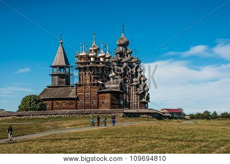 Historical And Architectural Museum In Kizhi, Karelia