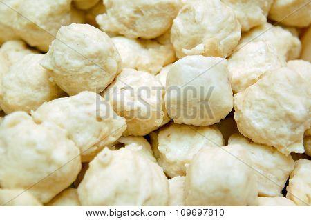Squid balls for Shabu Shabu or hot pot