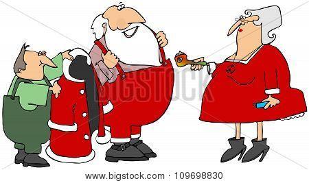 Santa's Pot Pipe
