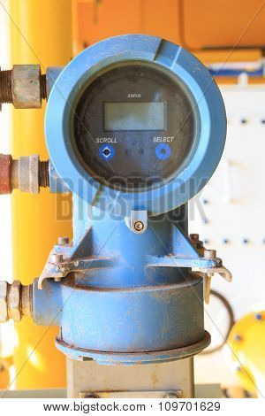 Digital Pressure And Temperature Sensor For Industrial