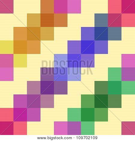 translucent squares