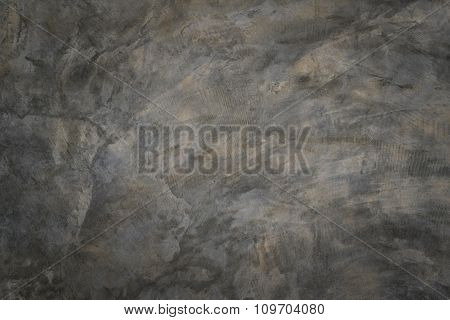 Polished Bare Concrete Wall Texture