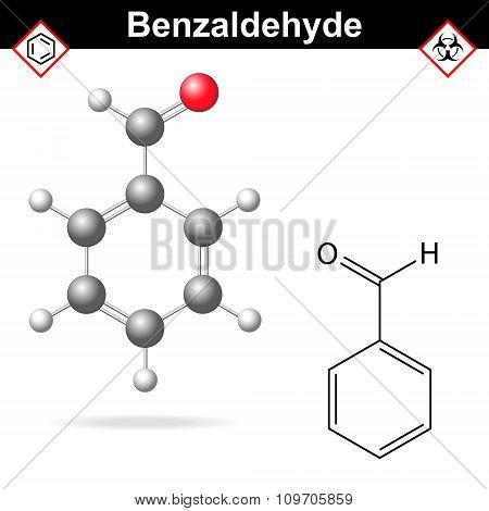 Benzaldehyde Chemical Formula And Molecular Structure