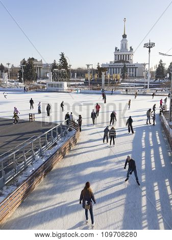 Moscow Exhibition Center Ice Rink