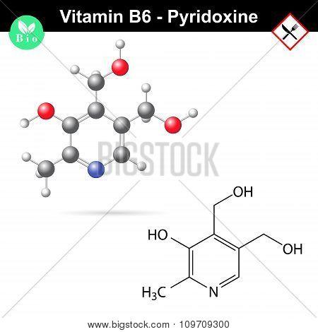 Pyridoxine Vitamin B6 Formula