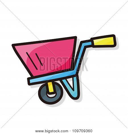 Handbarrow Color Doodle