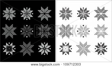 Jacquard Snowflake