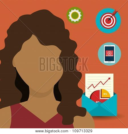 Digital marketing and advertising icons