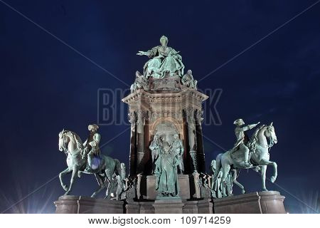 Monument To Maria Theresia