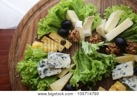 Various Types Of Gourmet Cheese