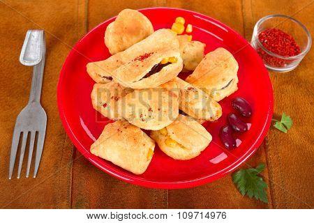 Spicy empanadas