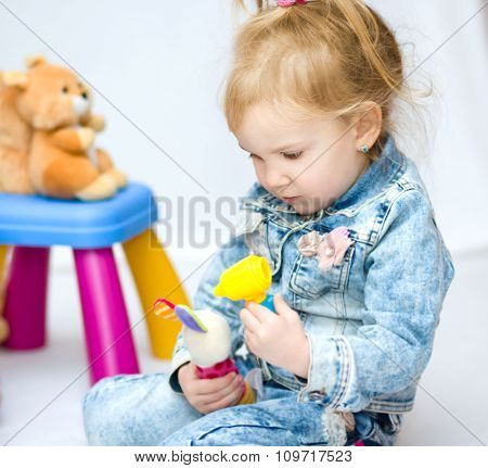 Girl Is Playing Doctor