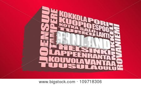 finland locations tags cloud
