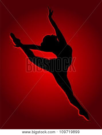 Flexible Dancing Girl.